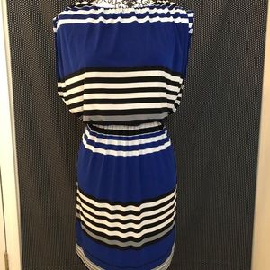 Striped Flowy Dress | Size 8